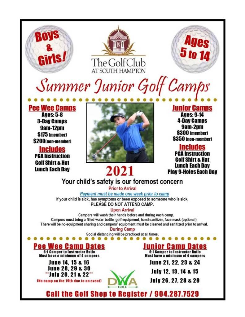 jr golf camps